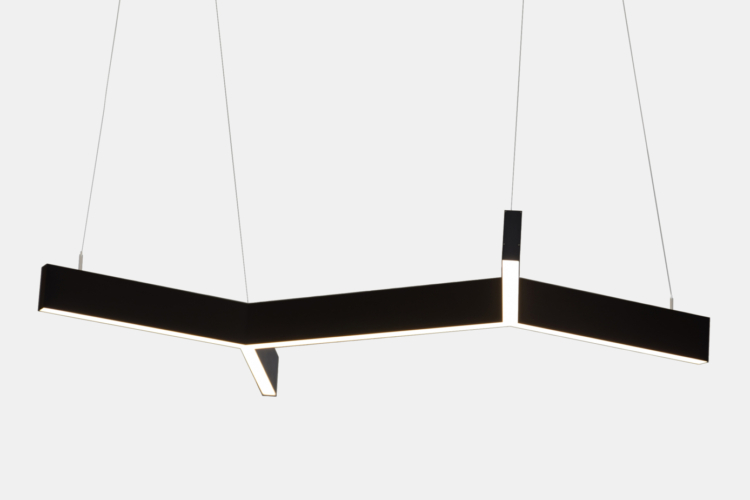 Серия Molecule. Светодиодные светильники сложной геометрической формы купить в Москве