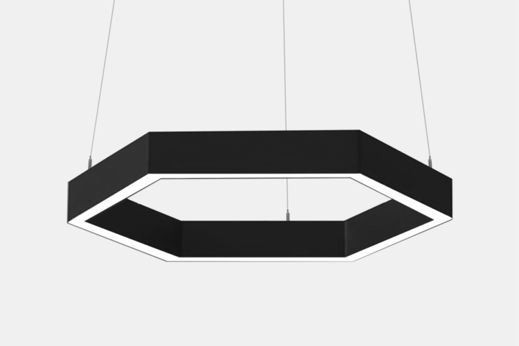 Серия Geks. Многоугольные светильники разных размеров купить в Москве